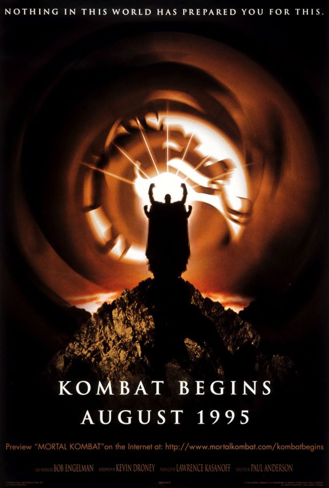Mortal Kombat movie poster