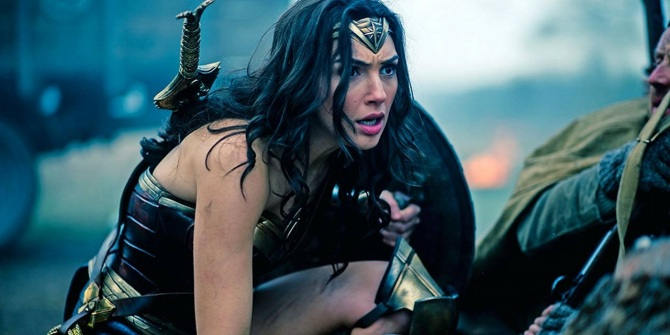 wonder woman gal gadot trenches