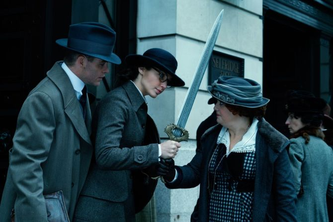 wonder woman sword london