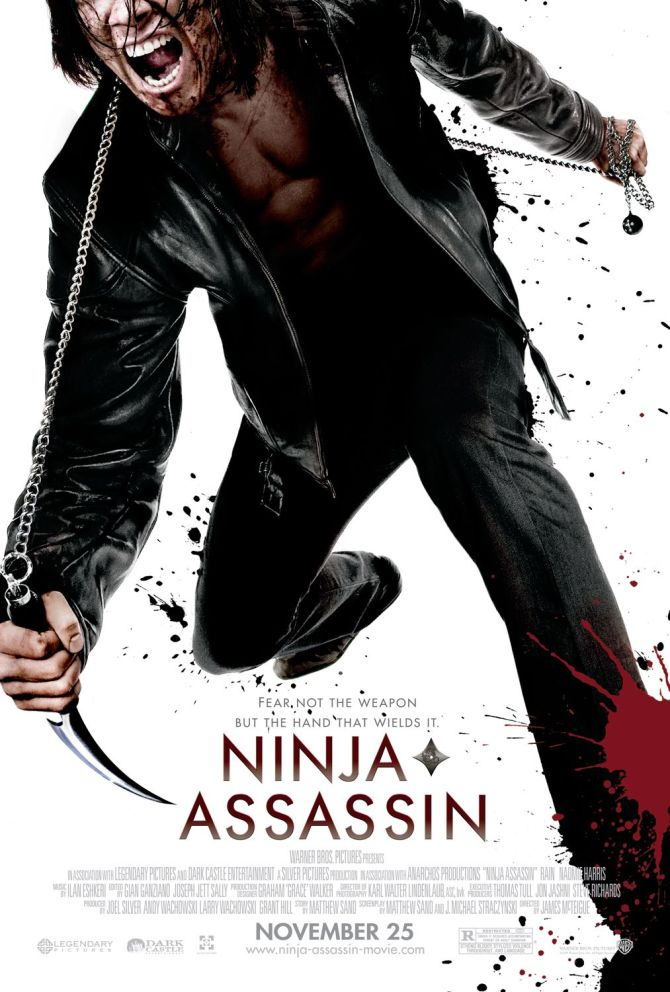 ninja assassin poster