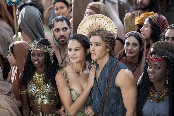Zaya and Bek in Gods of Egypt