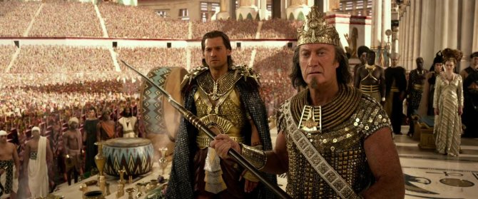 Gods of Egypt Coronation