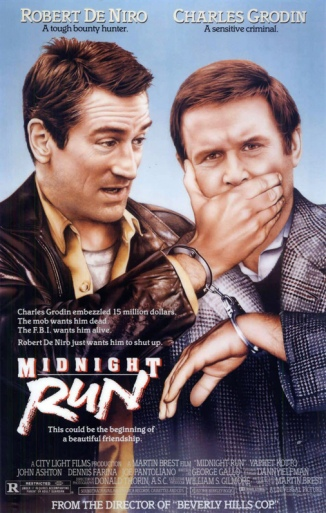 Midnight Run alternative poster