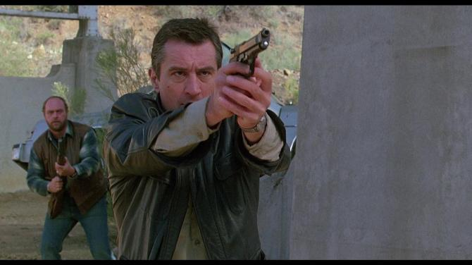 Midnight Run Shoot out scene de niro