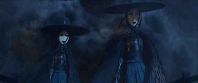 kubo and the two strings sisters