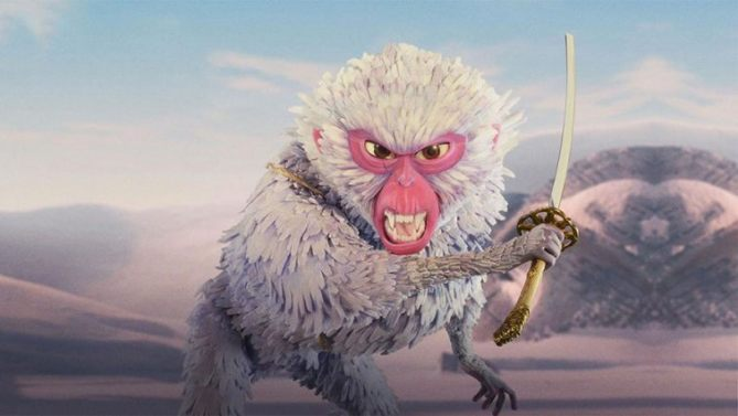 Kubo and the two strings monkey