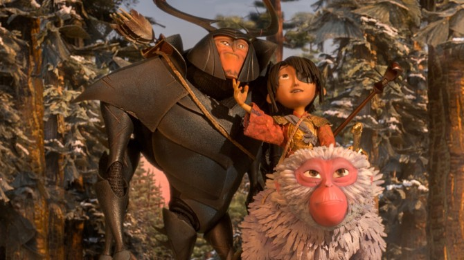 Kubo and the two strings kubo beetle and monkey