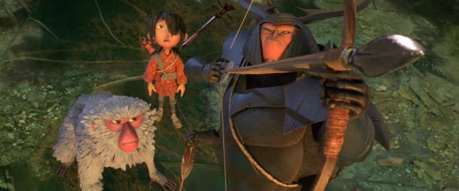 kubo and the two strings group shot