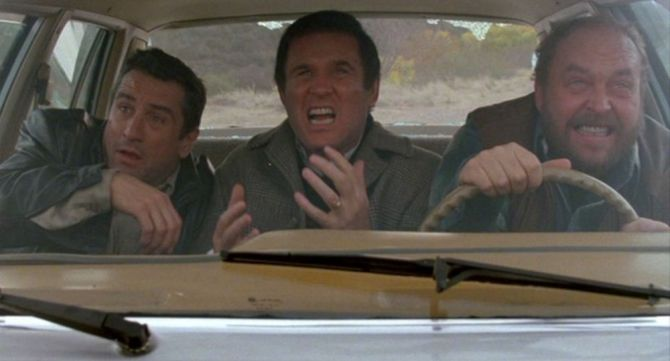 Midnight Run Car Scene