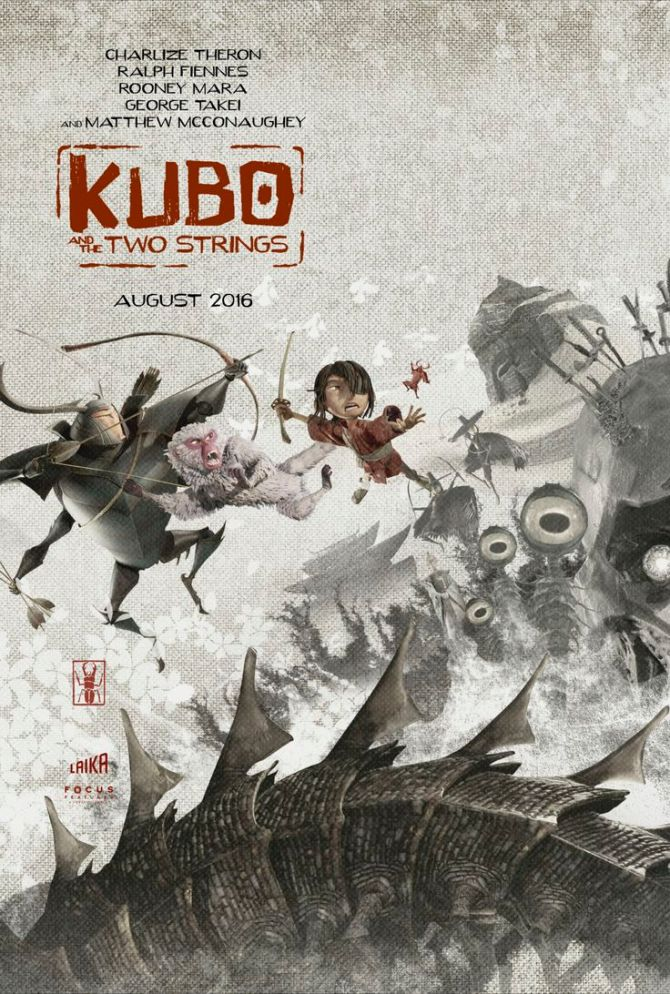 Kubo and the two strings art poster