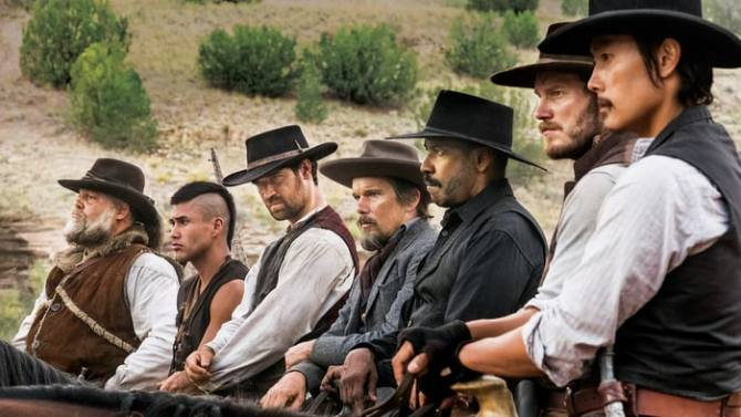 magnificent 7 2016 cast