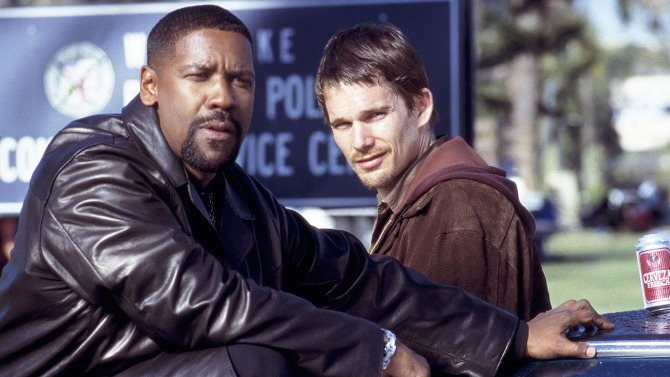 Training Day Denzel Washington Ethan Hawke