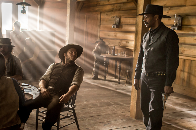 magnificent 7 2016 Chris Pratt Denzel Washington