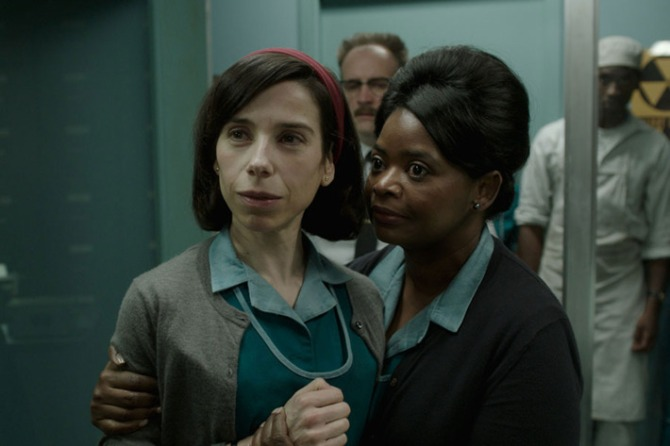 Shape of Water Elisa and Zelda