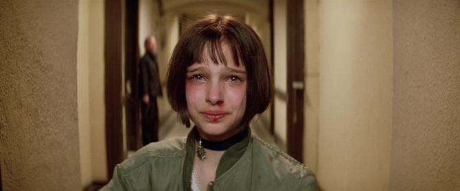 Leon Mathilda Crying Natalie Portman