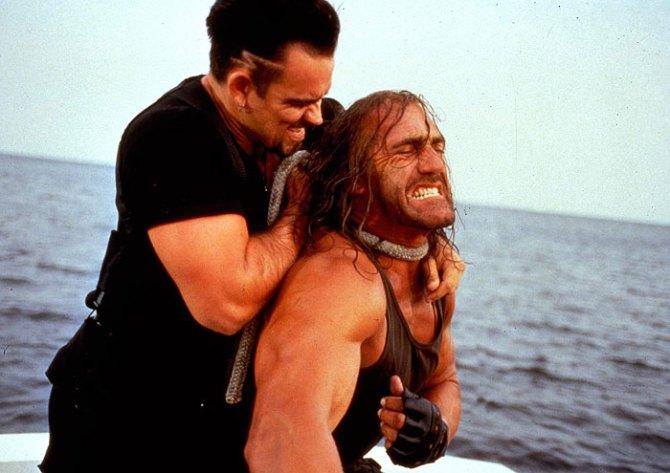 Shadow Warriors Assault on Devils Island Trevor Goddard Hulk Hogan