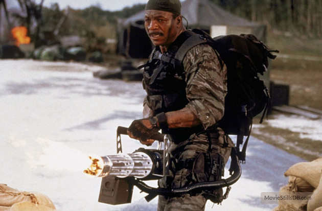 shadow warriors assault on devils island carl weathers mini gun