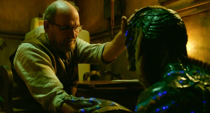 THE SHAPE OF WATER Richard Jenkins Doug Jones