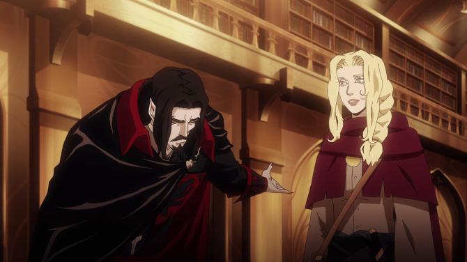 Dracula Lisa Castlevania Netflix