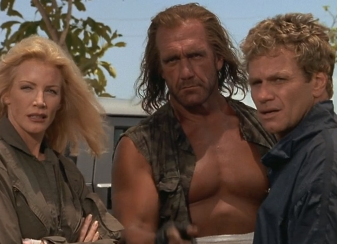 Shadow Warriors Assault on Devils Island Hulk Hogan Shannon Tweed Martin Kove
