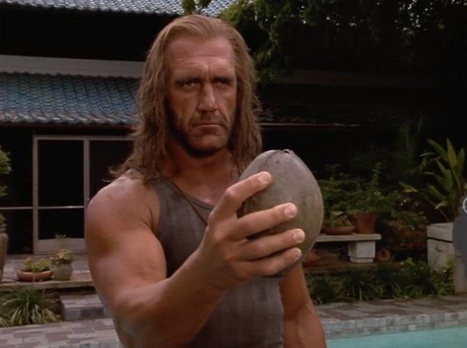 Shadow Warriors Assault on Devils Island Coconut Hulk Hogan