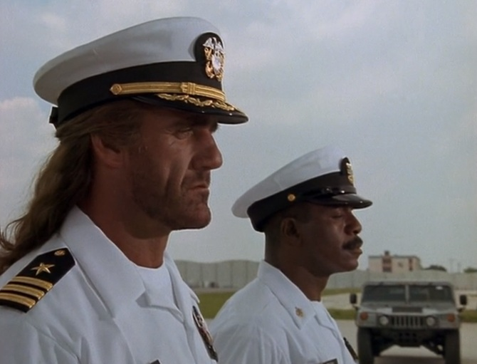 Shadow Warriors Assault on Devils Island Hulk Hogan Carl Weathers Dress Uniform