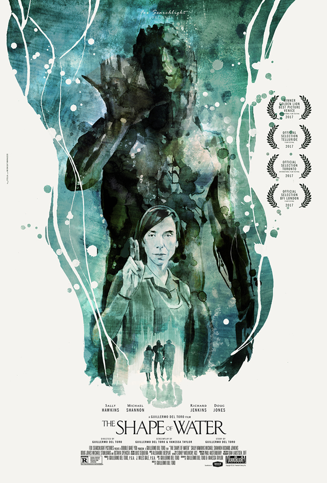 Shape of Water Alternative Poster Midnight Marauder High Res