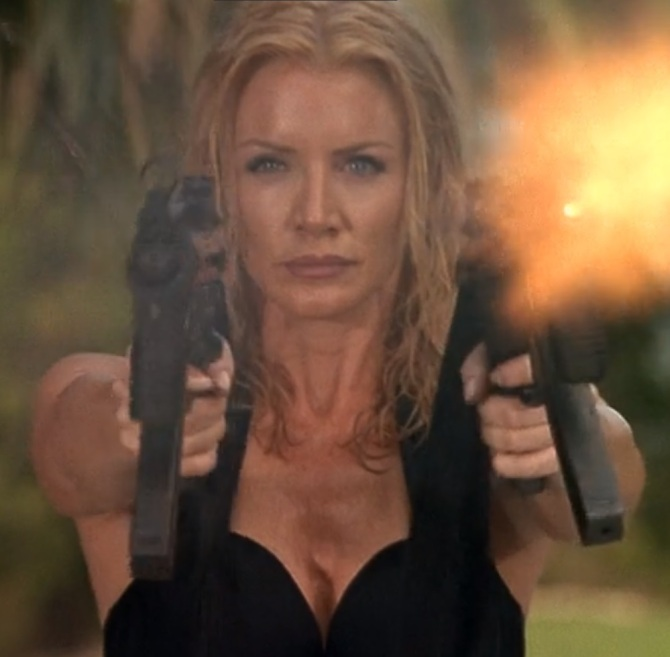 Shadow Warriors Assault on Devils Island Shannon Tweed