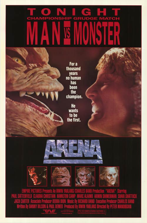 arena 1989 poster