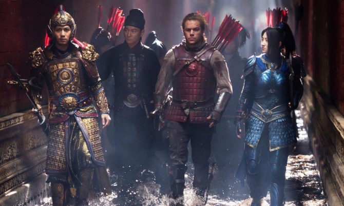 the great wall matt damon jian tian