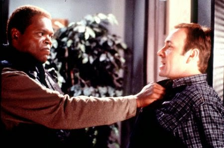 The Negotiator Samuel Jackson Kevin Spacey 1998 action movie