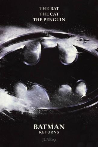 batman returns simple poster