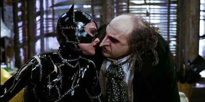 Batman returns catwoman and penguin