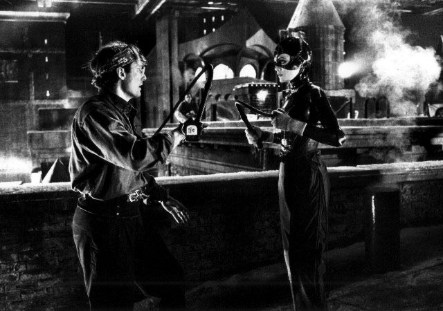 batman returns behind the scenes catwoman anthony de longis