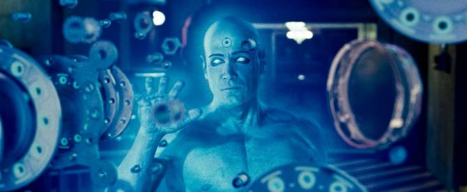 Watchmen movie Dr Manhattan