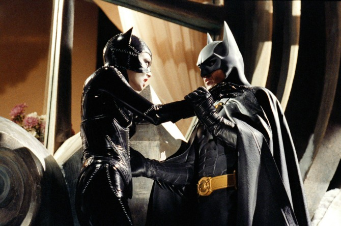 batman returns catwoman fighting batman