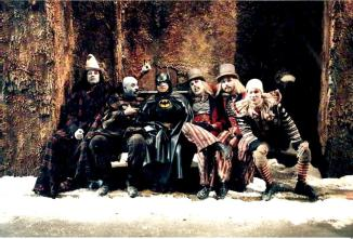 Batman Returns Michael Keaton Circus Gang Behind the Scenes