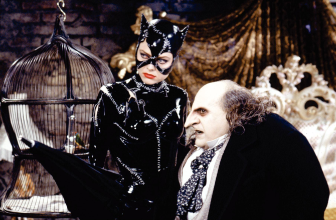 Catwoman and Penguin Batman Returns