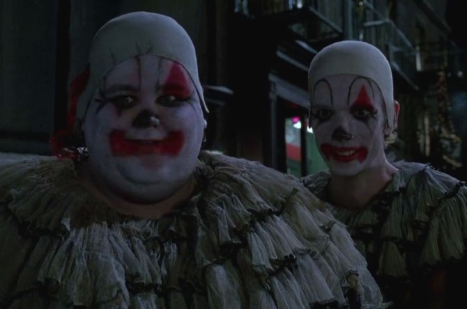 batman returns fat and thin clown