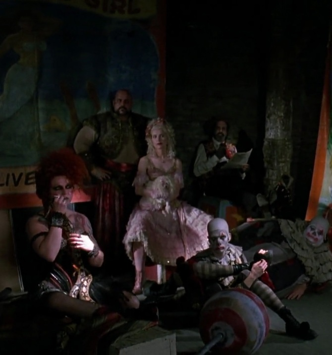 Red Triangle Circus Gang Batman Returns