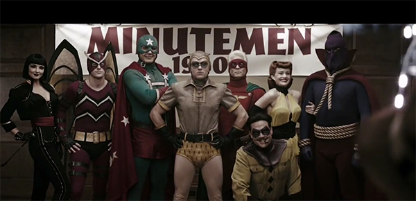 watchmen movie minutemen