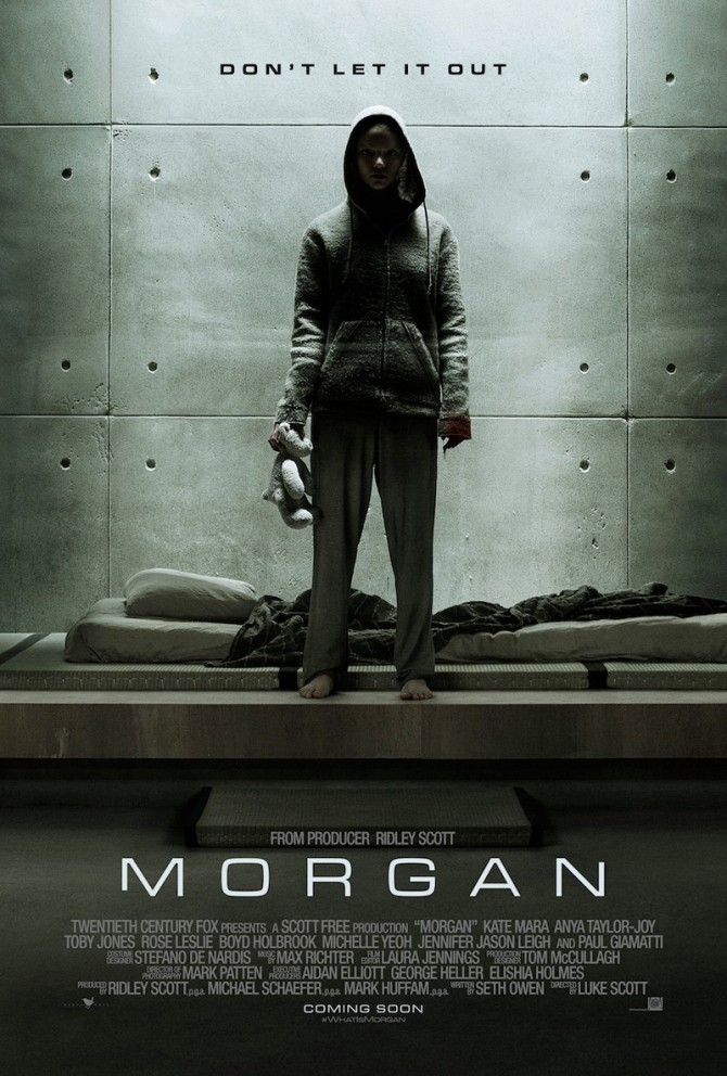 Morgan movie poster