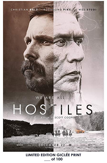 hostiles movie poster