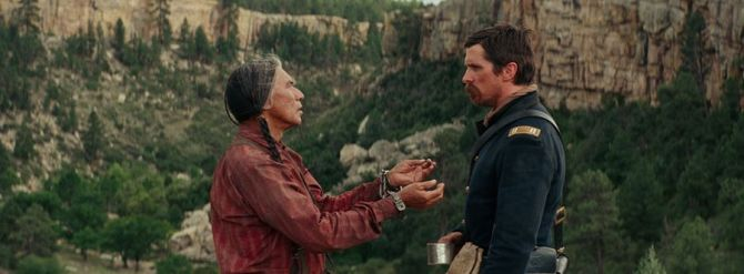 hostiles movie wes studi christian bale