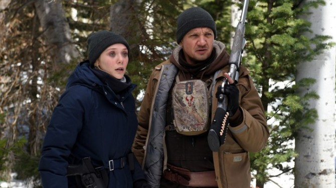 Wind River Jeremy Renner Elizabeth Olsen