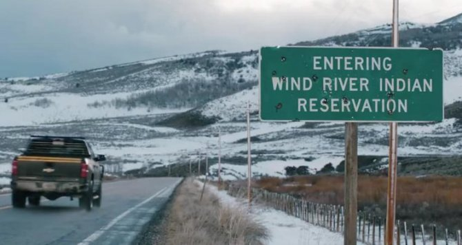 Wind River Road Sign