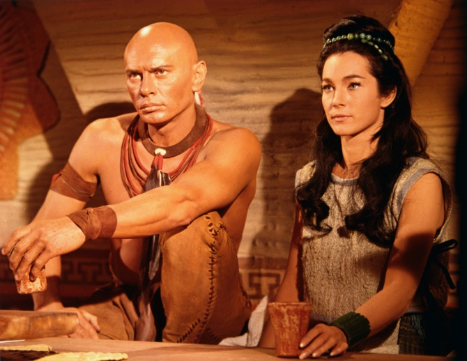 kings of the sun yul brynner Shirley Anne Field