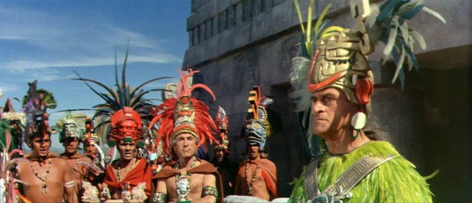 Kings of the Sun headdresses