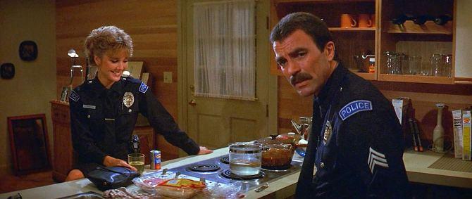 Runaway Movie 1984 Tom Selleck Cynthia Rhodes