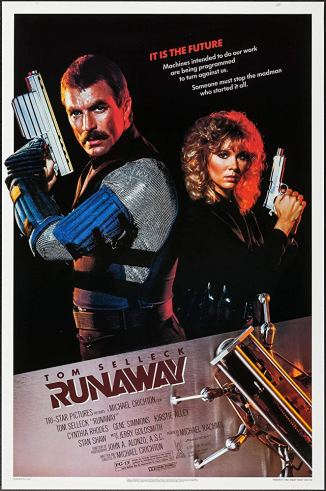 Runaway 1984 Movie Poster